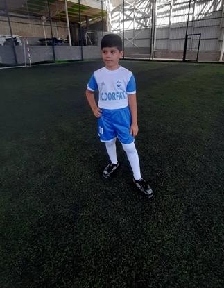 سامیار-جعغری-بازیکن-باشگاه-درفک-البرز-FCDORFAK-FOOTBALL